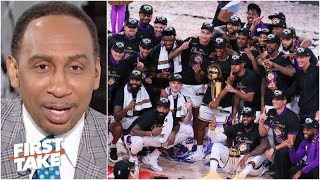 Will LeBron & the Lakers repeat as NBA Champions? Stephen A. says yes   First Take