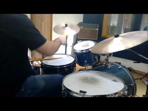 Groove - Two Mics Drum Test ( Glyn Johns Technique)