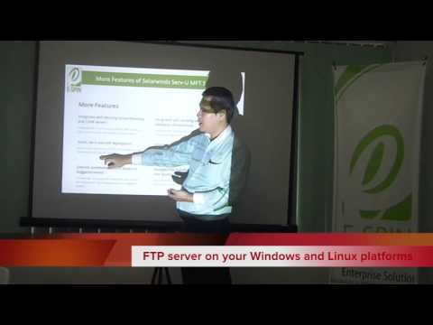 Solarwinds Serv-U MFT Server Product Overview By E-SPIN