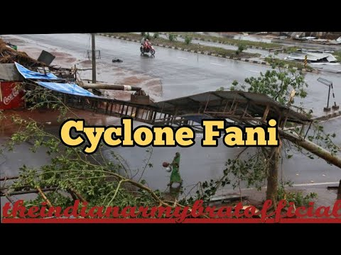Monster Cyclone Fani roars ashore eastern India as a potentially catastrophic Category 4 storm