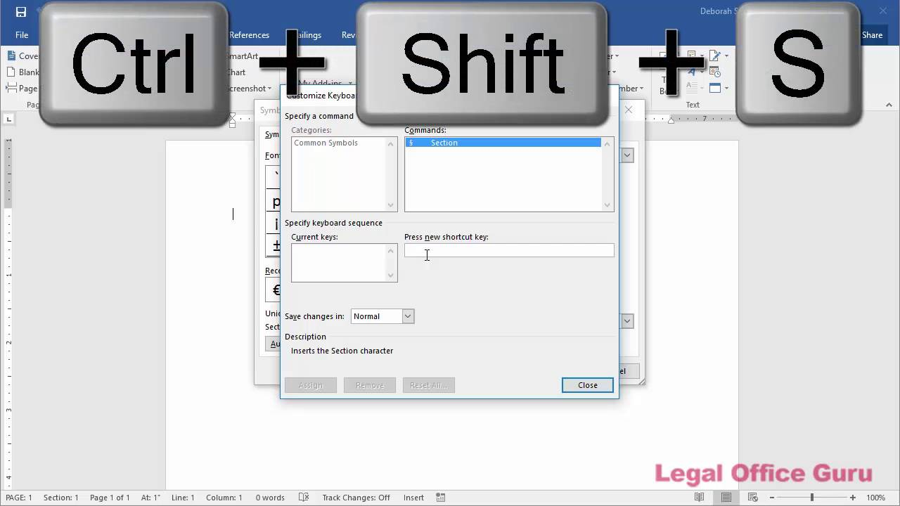 How to make a shortcut key for inserting symbols in microsoft word how to make a shortcut key for inserting symbols in microsoft word 2016 buycottarizona Gallery