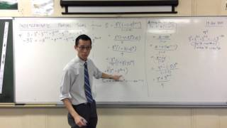 Indeterminate Partial Sums - Alternative Methods (2 of 2: First principles)