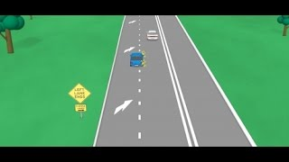 Driver Education Video 3 Merging Rules NSW Australia