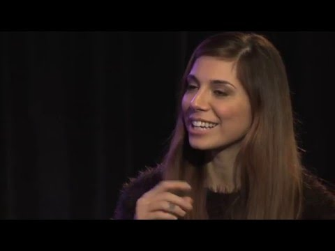 Christina Perri - Front and Center Interview