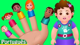 A Canção da Família dos Dedos | Canções de Ninar e Canções para Crianças pela ChuChu TV
