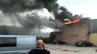 Grote brand centrum Waalwijk 2