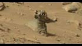 Humanoid's Galore on the Planet Mars?