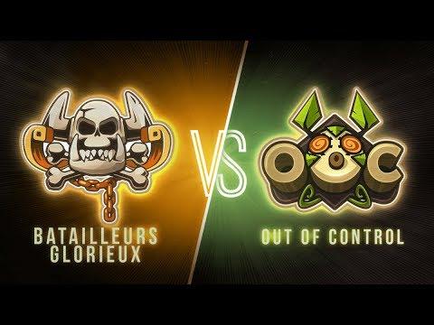 DWS Winter 2018 - Demi-finale : BATAILLEURS GLORIEUX vs OUT OF CONTROL (Match 4)