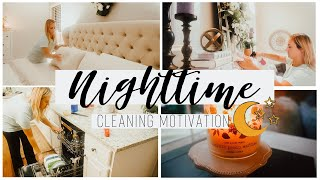 AFTER DARK CLEAN WITH ME 2019   RELAXING SPEED CLEANING MOTIVATION   NIGHT TIME CLEANING ROUTINE 🌙
