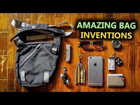 5 Crazy Bag Inventions - Now On Amazon!