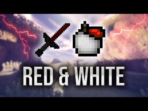 Red & White Texture Pack Showcase (UHC/MCSG) - Kamex X Daviez