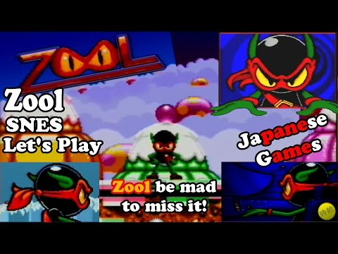 Zool (SNES) - Zool Be Mad To Miss It - Let