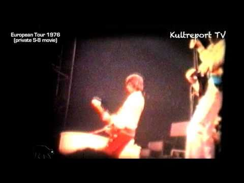 THE ROLLING STONES - European Tour 1976 - Private S8 - Kultreport Tv