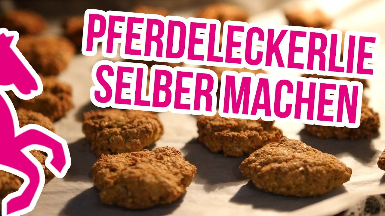 diy pferdeleckerlie selber backen rezept anleitung youtube. Black Bedroom Furniture Sets. Home Design Ideas