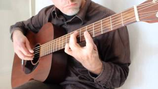 Beatles - Drive my Car - Acoustic Fingerstyle Guitar Cover - Martin 000-15M