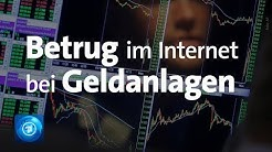 Kriminelle Internetgeschäfte: Betrug mit Geldanlege-Plattformen