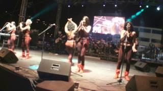 Las Chicas Dulces feat K-tleya - Amor Gitano y Pecado Mortal Concierto en vivo Feria de Loja
