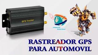 GPS tracker - rastrear autos