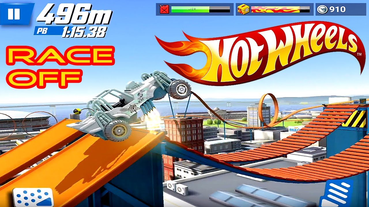 Hot Wheels Race Off Gameplay - Lots of challenging Levels / Lots of Cars