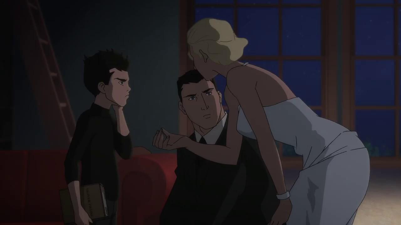 Download Bruce, Damien and Samantha (Batman vs. Robin 2015)