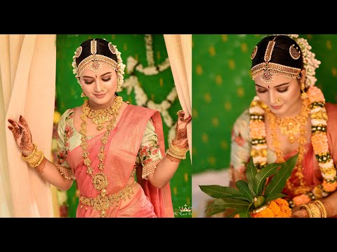 South Indian Bridal Makeover || Jitu Barman ||