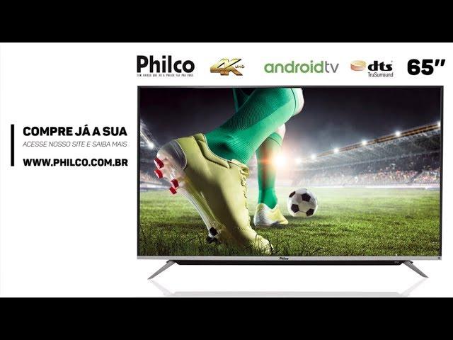 GoogleTV 65 Smart 4K Led Philco