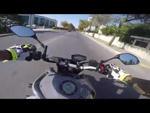 Yamaha MT 09 | Kesici | Yanlama