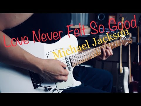 Michael Jackson - Love Never Felt So Good - Electric guitar cover by Vinai T