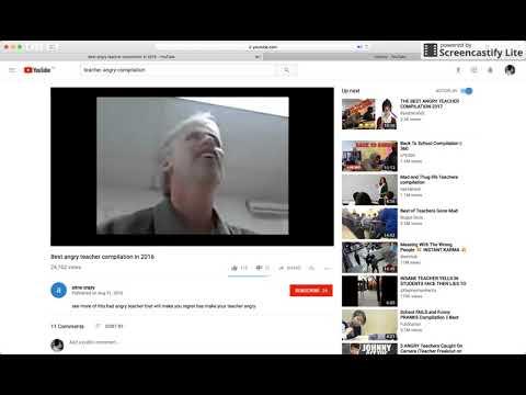 Goanimate E.J 2017-2018 - Teacher Stephane Gavin  Angry
