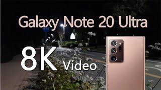 [8K] Galaxy Note 20 Ultra 8K V…