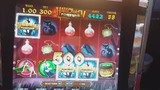HALLOWEEN FORTUNE slot bar