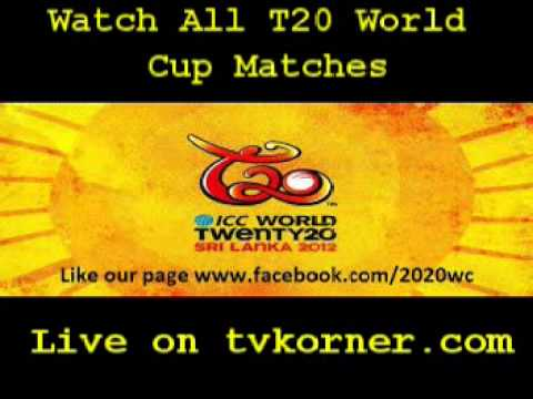 T20 World Cup 2012 Live Streaming