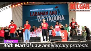 46th Martial Law anniversary protests