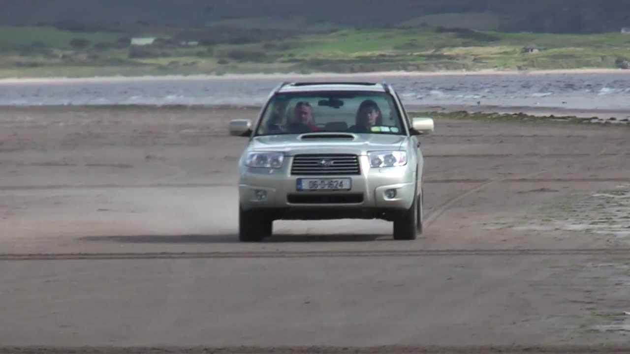Subaru Forester 2 5xt On The Beach Youtube