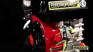 Moteur thermique 4 temps OHV 6.5 cv ® ELECTROPOWER