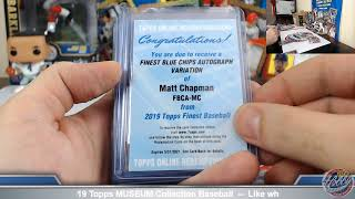 2019 Topps FINEST Baseball 1 Case (8 Box) TEAM Break #6 eBay 6/19/19 thumbnail