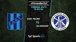 San Telmo vs Acassuso full match