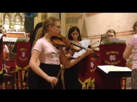 Norwich High School Music Tour - Verona Orchestra