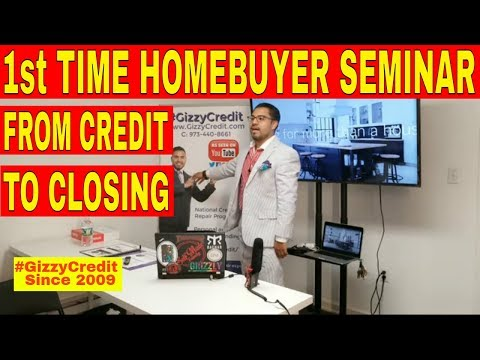 1st Time Home buyer Seminar Live/How to buy my first home/what I need to get mortgage/#gizzycredit