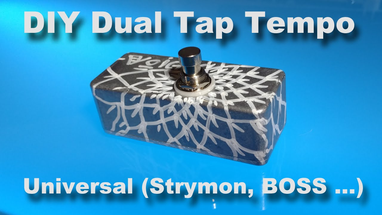 Diy Dual Tap Tempo Universal Strymon And Boss Pedals By Frank Voigts Circuits Gt Dd 2 Digital Delay Guitar Pedal Schematic Diagram