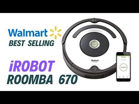 iRobot Roomba 670   Walmart's best robot vacuum