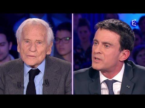 """Jean d'Ormesson à Manuel Valls: """"Vous vous êtes droitisé !"""" #ONPC"""