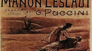Intermezzo. Manon Lescaut. Giacomo Puccini.