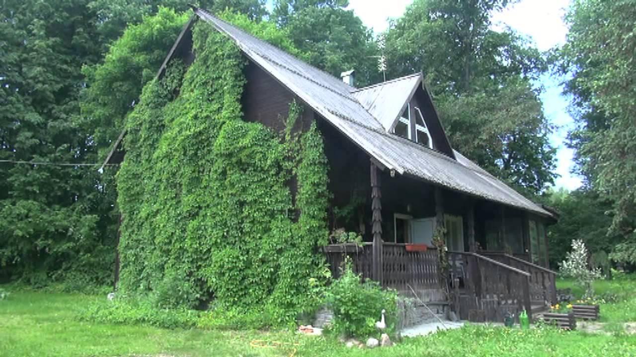 продается дом на берегу Рузского водохранилища - YouTube