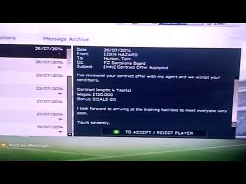 FIFA 14 - Buying Eden Hazard For £4.5 Million!