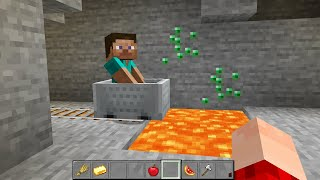 UNLUCKY MINECRAFT CURSED VIDEO (PART 1) BY SCOOBY CRAFT