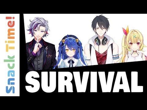 VTubers get stuck on deserted island 🏝️ cause CHAOS 🤪   Snack Time! #7 (VTuber Anime) (Eng Sub)