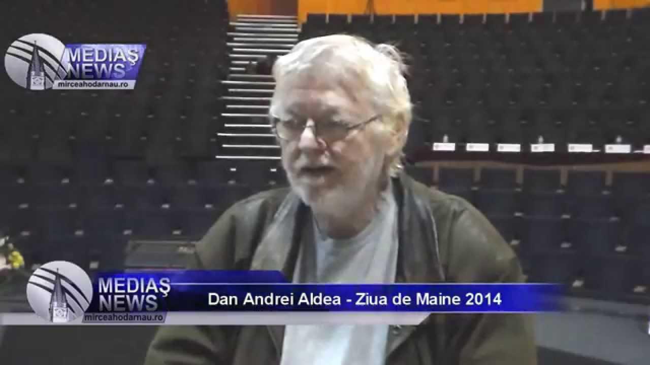 Interviu Dan Andrei Aldea - Ziua de Maine 2014
