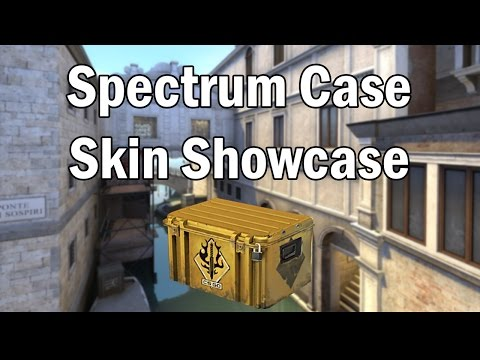 Spectrum Case Skin Showcase