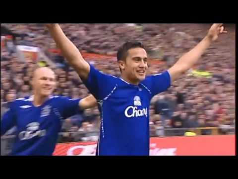 """""""little Timmy"""" Tim Cahill goals for everton and australia"""